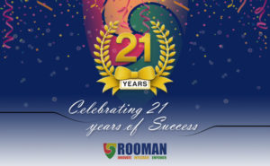 Rooman Technologies 21st Anniversary